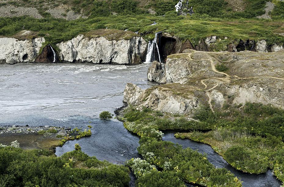 Tal der Jökulsá á Fjöllum im Vatnajökull-Nationalpark