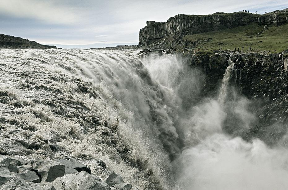 Wasserfall Dettifoss im Vatnajökull-Nationalpark