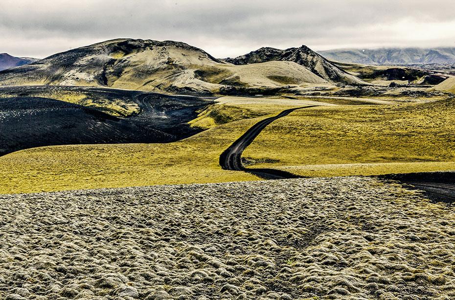 Laki-Krater im Vatnajökull-Nationalpark