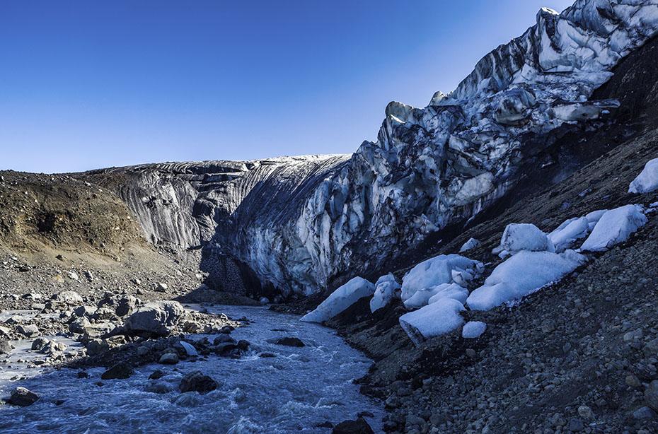 Eishöhle der Kverkfjöll im Vatnajökull-Nationalpark
