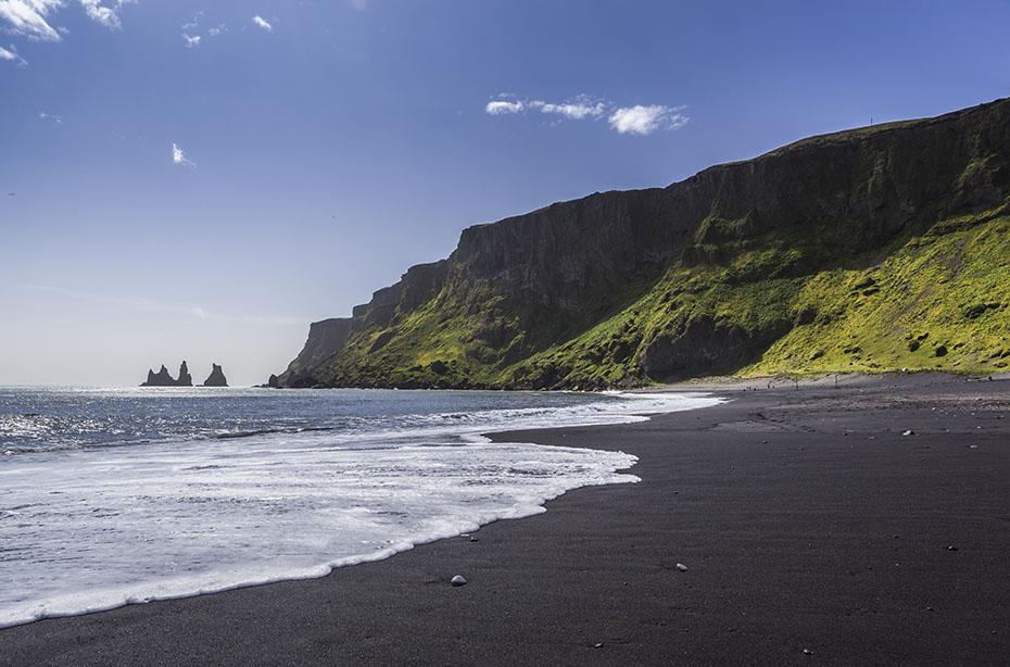 schwarzer Strand von Vík í Mýrdal