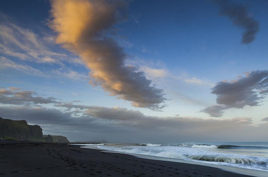 Die Küste von Vík í Mýrdal