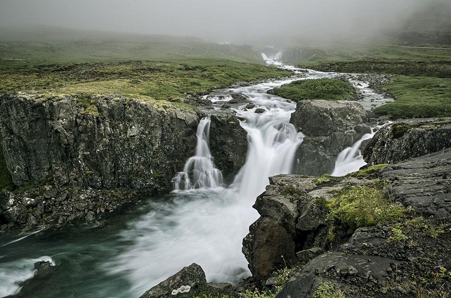 Wasserfall nahe Seydisfjördur