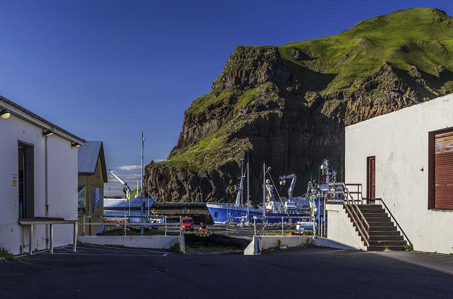 Westmännerinseln: Fischereihafen