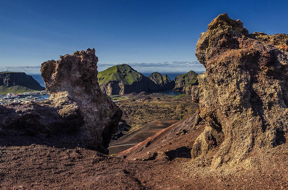 Island Islandreisen die Westmännerinseln