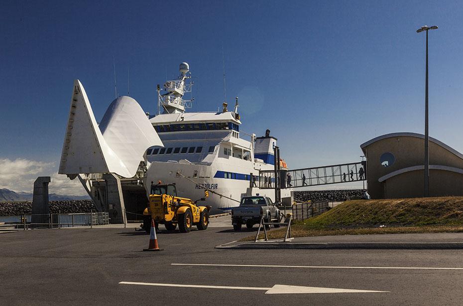 Westmännerinseln: Fähre zwischen Island und den Inseln