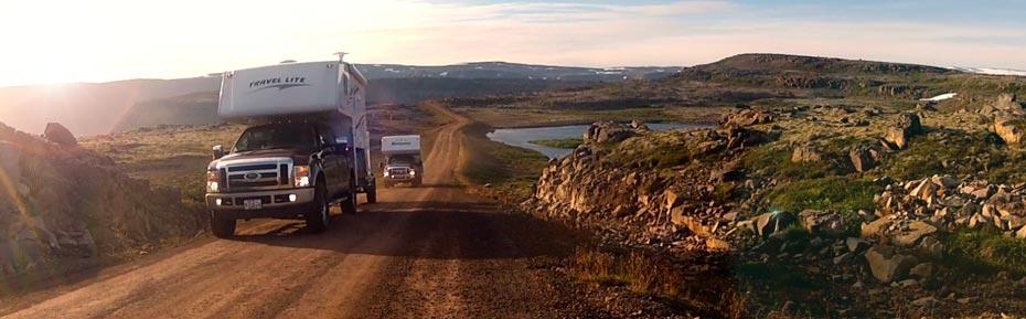 Island Reisen 4x4 Camper in den Westfjorden