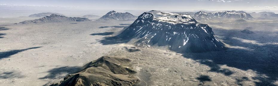 Berge im isländischen Hochland