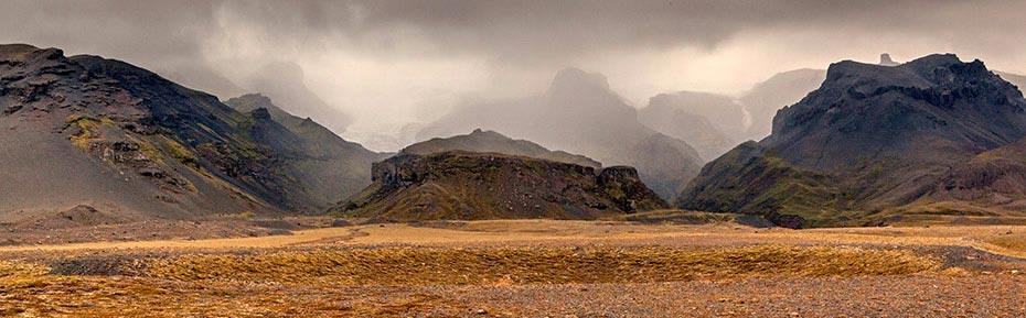 Vatnajökull im Süden Islands