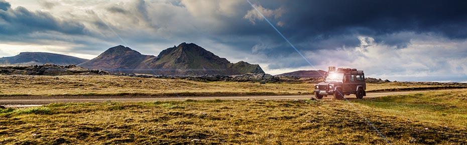 Island Reisen: Jeep Touren Hochland