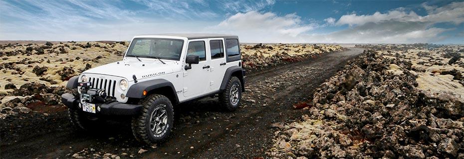 Island Island-Reisen Jeep Super Camper im Hochland