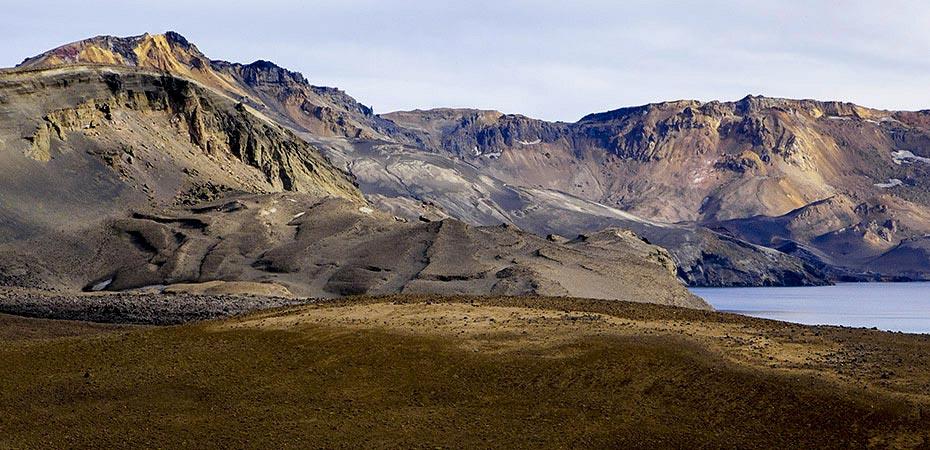 Vulkan Askja: Die Caldera der