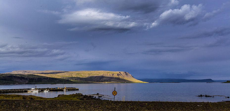 Brjánslækur auf den Westfjorden