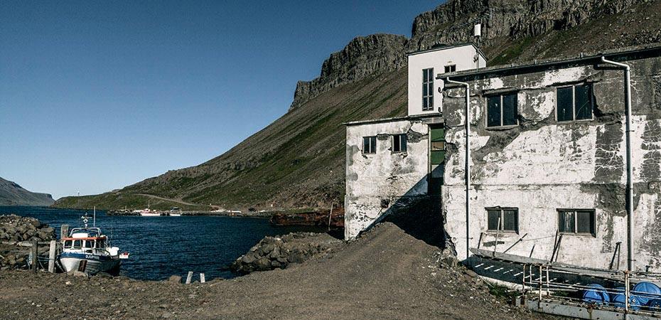 Die alte Heringsfabrik von Djúpavík