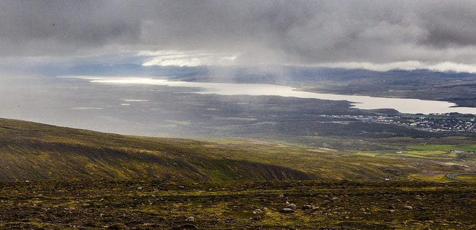 Egilsstadir und der See Lögurinn
