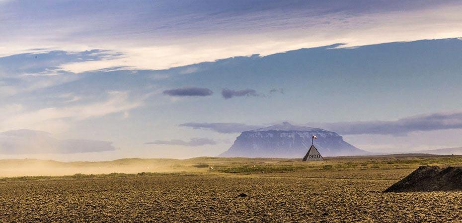 Herðubreið im isländischen Hochland