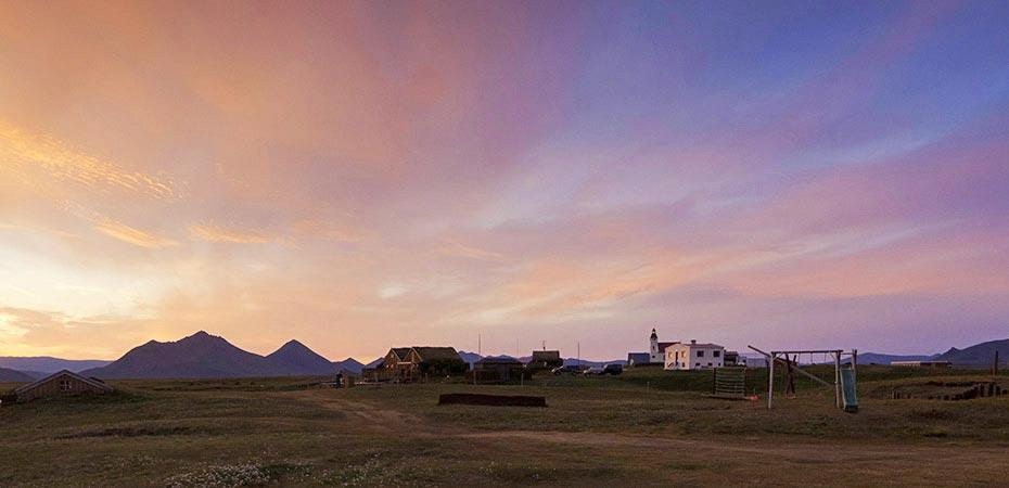 Abendhimmel über Möðrudalur