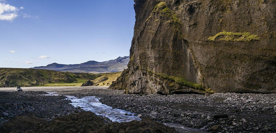 Goðaland im Tal Þórsmörk