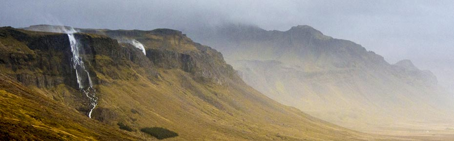 Islandreisen wasserfall snaefellsnes