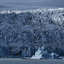 Gletscherkante am Fjallsárlón