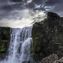 Öxarafoss Þingvellir-Nationalpark