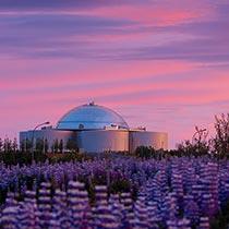 Island Kurzreise Reykjavik Perlan