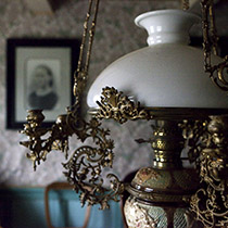 Wohnstube im Museum Grenjaðarstaður