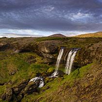 Wasserfall auf Snæfellsnes