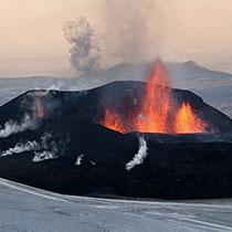 ASkja: Eruption des Eyjafjallajökull