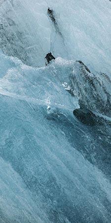 Island Eis im Jökulsárlón