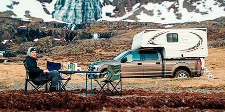 Island Reisen 4x4 Camper