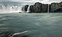 Wasserfall Goðafoss