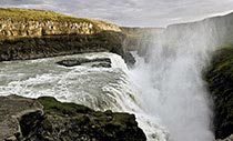 Gullfoss - Islands goldener Wasserfall