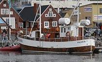 Ansicht von Húsavík