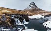 Island Islandreisen Kirkjufellsfoss