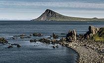 Küste der Halbinsel Krossnes
