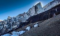 Die Bergkette der Kverkfjöll