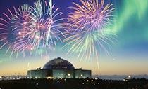 Island Kurzreise Feuerwerk