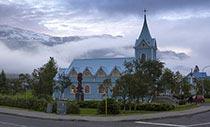 Ansicht von Seyðisfjörður