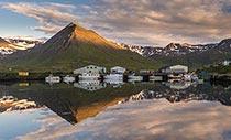 Ansicht von Siglufjörður