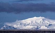 der Vulkan Snæfellsjökull im Westen Islands