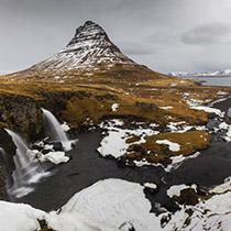 Kirkjufell und Kirkjufellsfoss auf Snæfellsnes