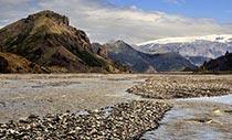 das Naturschutzgebiet Þórsmörk