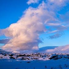 Island Winterlandschaft Individuelle Reisen