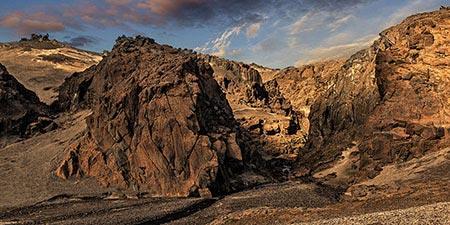 Askja gigantischer Zentralvulkan