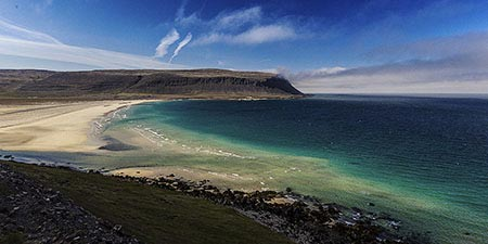 Island Westfjorde Patreksfjörður