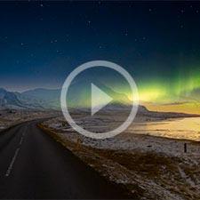 Polarlichtreisen nach Island