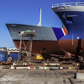 Daten und Fakten: Werft im Hafen von Reykjavík
