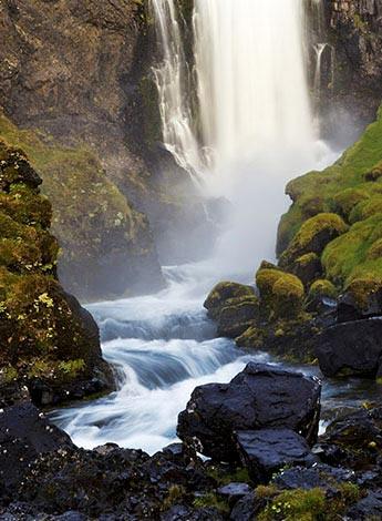 Wasserfall am Dynjandi