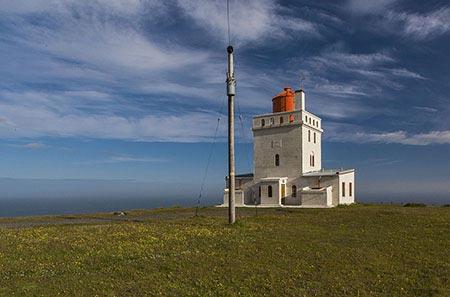 Leuchtturm von Kap Dyrhólaey